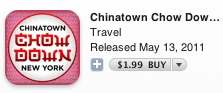 Buy Chinatown Chow Down